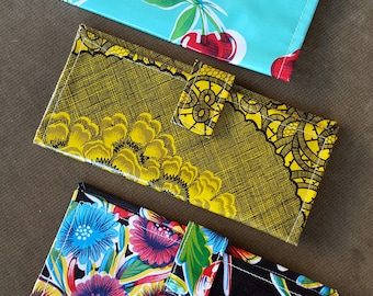 Oilcloth Wallet Sewing Pattern