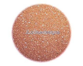 Rose Gold Sanding Sugar  Edible Sprinkles Cake,Cakepops, Cookie Decorations, Rimming Sugar Confetti
