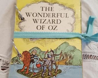 The Wonderful Wizard of Oz Junk Journal, Scrapbook, Mixed Media, Smashbook, mini album, Art journal