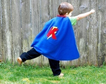 DELUXE Custom Super Hero Cape Set With Mask