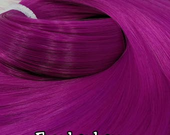 Frankenberry Dark Magenta Nylon Doll Hair Hank for Rerooting Barbie® Monster High® Ever After High® My Little Pony Fashion Royalty Disney