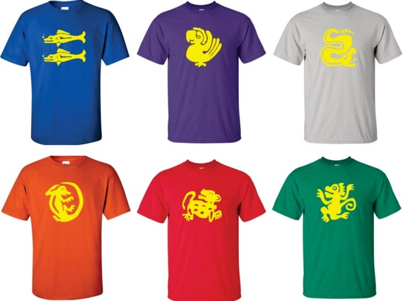 Full set of legends of the hidden temple t shirts you get for Best custom t shirts reddit