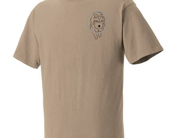 Chinese Shar-Pei Agility Garment Dyed Cotton T-shirt UYD61v