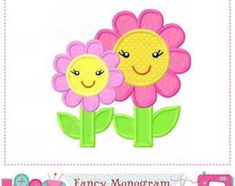 Easter Sunflower applique,Sunflower design,Sunflower embroidery,Summer applique,Flower applique.