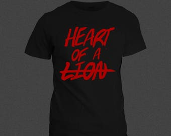 Heart of a Lion perfect shirt
