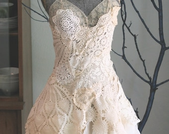 The Doily Dress --made to order--