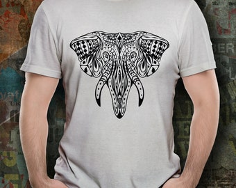 Elephant T Shirt Mens,Vintage Elephant T Shirt, Gifts For Him Gift Idea Elephant Gifts Zoo Tee Animal T Shirt Elephants Matching Family Tees