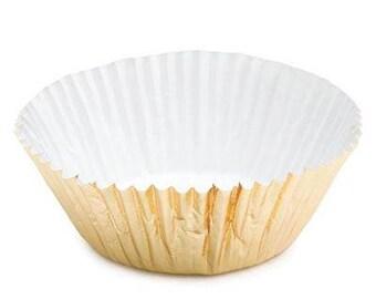 Gold Foil Cupcake Liners 500pk