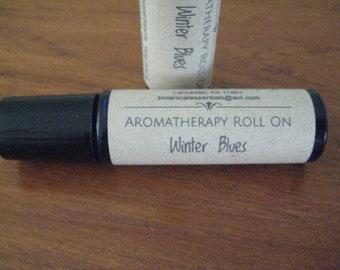 Aromatherapy Roll On | Beat the Winter Blues | Mood Enhancer/Uplifting | Ylang Ylang & Orange