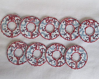 anchor closet divider set