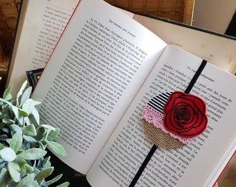 Large bookmark Rosy
