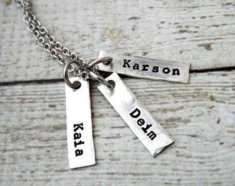 Mens necklace-personalized necklace-mens jewelry-dad necklace-gift for men-gift for dad