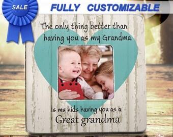 Great Grandma Gift New Great Grandma Birthday Great Grandmother Gift Great Grandmother Frame New Great Grandma Great Grandma Christmas Gift