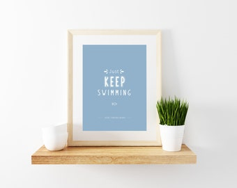 Finding Nemo Quote Print