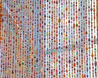 Door beaded curtains Door bead Door curtain door bead curtainString curtain  sc 1 st  Etsy & Door beads | Etsy