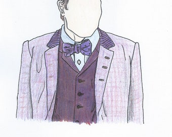 Eleventh Doctor [Doctor Who] Pencil Sketch