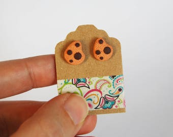 Pendants Biscuits Earrings in fimo-Little things Collection