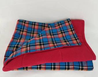 African Maasai Fleece Throw/Blanket