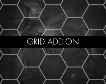 Grid Add-On – Hexes or Squares