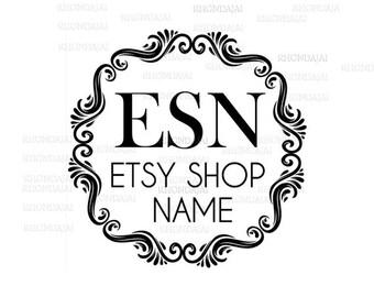 Shop Logo - Etsy Branding - Etsy Store Branding - Shop Icon - Etsy Shop Icon - Logo Style 300