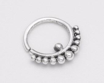 Tribal tragus earring. tragus hoop. tiny hoop earrings. tragus jewelry. tiny earrings. helix earring. cartilage earring.
