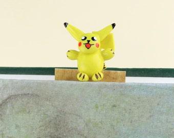 POKEMON,Pokemon go,Pikachu,Pokemon bookmark,Cute bookmarks,Funny bookmarks,Pikachu bookmark