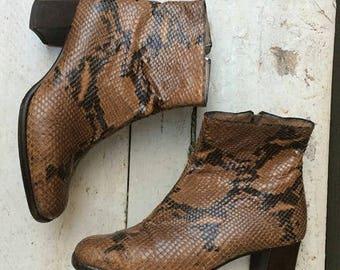 Snake vintage ankle boots Melluso  eu n. 37