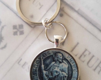 Key Chain - St James the Greater Apostle Pendant - 32mm