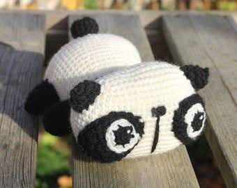 Panda crochet Plushie