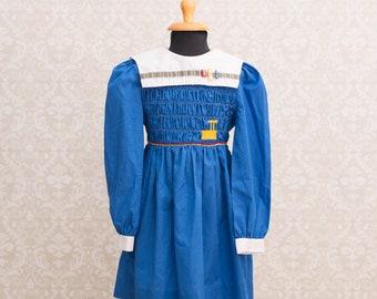 Polly Flinders Girls Smocked Dress