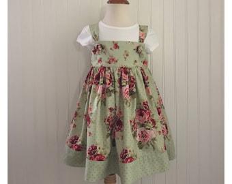 SOLD SOLD Girls dress Girls knot dress Girls size 4 Girls Spring dress Girls Summer dress