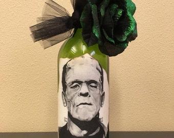 Forever Frankie Wine Bottle