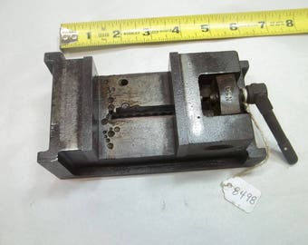 NESTER MANUFACTURING Co. PM Co Antique  Rare Drill Press Vise Pat'd. Oct. 27, 14