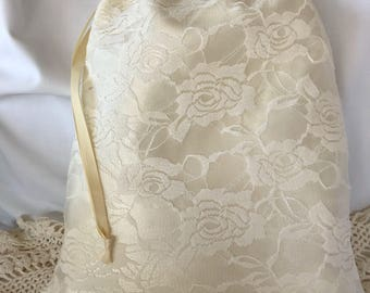 Money Dance Bag Ivory, Money Bag, Dollar Dance Bag, Ivory VIntage Wedding Purse