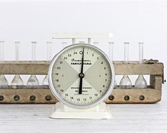 Vintage échelle échelle échelle blanche cuisine Antique échelle ancienne échelle rustique cuisine échelle rouillée ancienne échelle ferme Decor