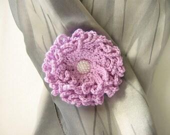 Flower brooch Crochet flower Brooch flower Brooch crochet Elegant brooch Gift brooch Flower pin brooch Brooch pin Women brooch Brooch gift