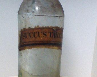 antique medicine bottle