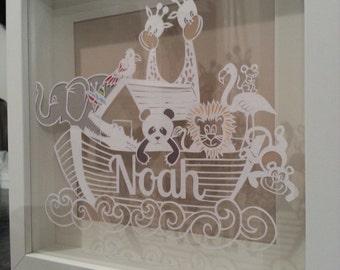 Personalised handcut Noah's ark!