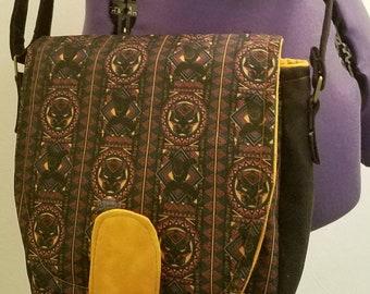 Black Panther Shoulder Bag