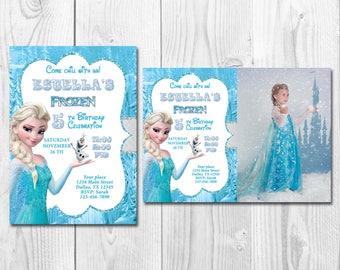 Frozen invitation etsy bookmarktalkfo Image collections