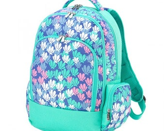 Mer-Mazing Backpack with FREE Name or Monogram, Back Pack