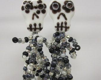 Dia de las muertas earrings