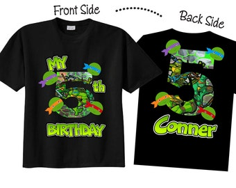 Birthday Shirts and Tshirts for Fifth Birthday, or Any Birthday