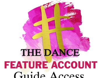 Dance and Ballet Feature Account Hashtag Guide