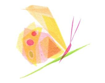 Maude Butterfly - Butterfly Art Print, Butterfly Decor, Insect Art Print