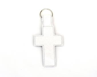 Cross Keychain | Christian Keychain | Religious Keychain | Stocking Stuffer | Gift for Her | Gift for Him | Cross Key Ring | Christian Gift