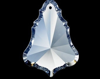 5 Clear 63mm Bell Shape Chandelier Crystal Prism Asfour Lead Crystal