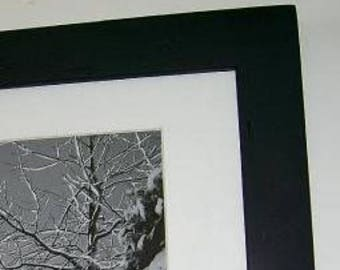 12x12 Picture Frame with Acrylic Glass Backing and Mounting Hardware