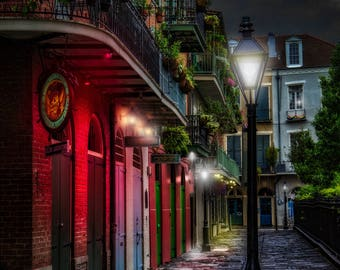 Pirates Alley, New Orleans - Travel Photography, NOLA, French Quarter