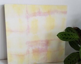 Naturally Dyed Fabric Wall Art